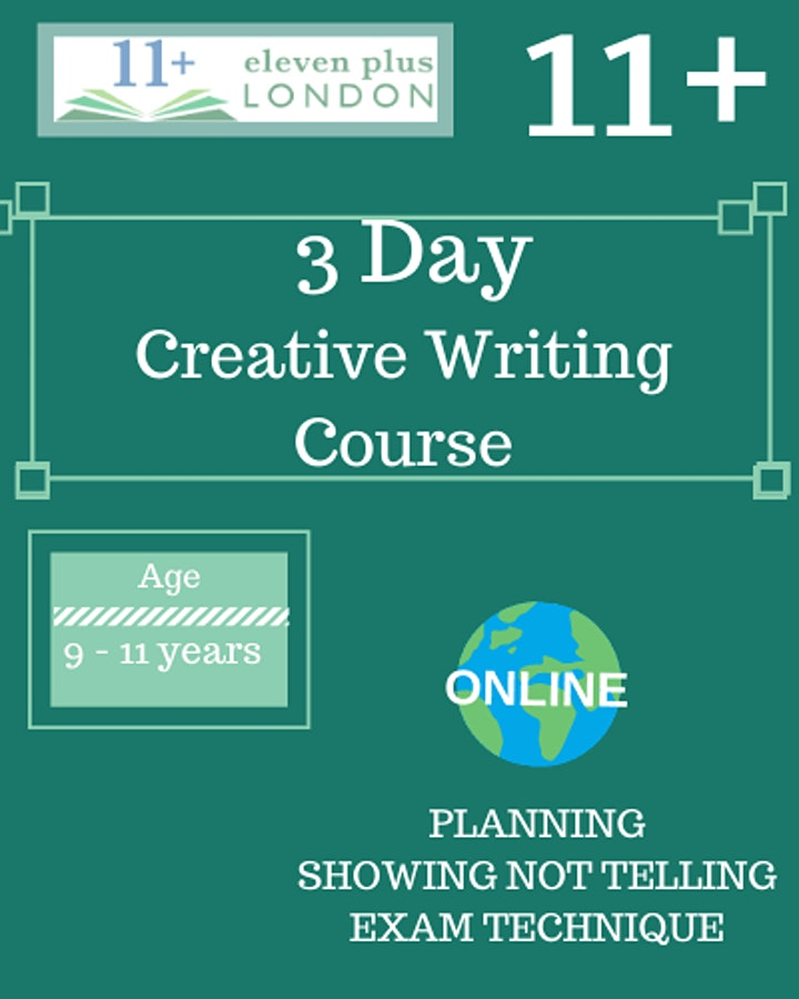 3 Day 11+ Creative Writing Course image