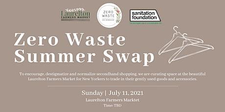 Zero Waste Summer Swap tickets