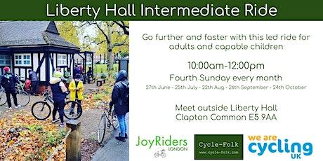 Liberty Hall   Intermediate Bike Ride tickets