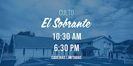 Cultos - Campus El Sobrante tickets