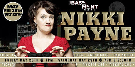 NIKKI PAYNE - Live In THE BASEMENT tickets