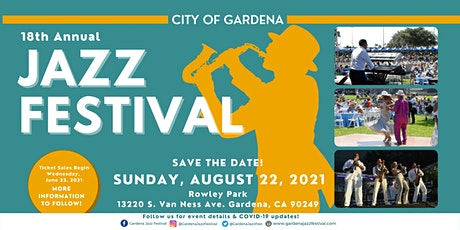 18th Annual Gardena Jazz Festival tickets