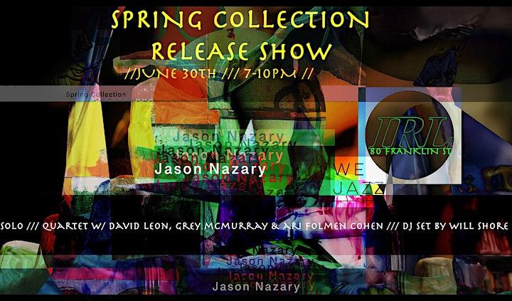 Jason Nazary Record Release image