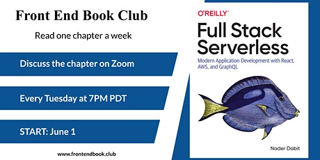 Front End Book Club - Book: Full Stack Serverless tickets