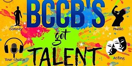BCCB's Got Talent  - BGT 2021 Registration tickets