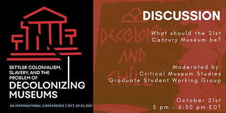 DISCUSSION | with Critical Museum Studies Working Group tickets