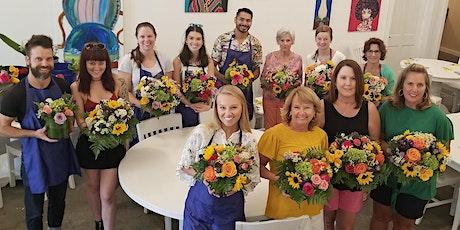 DIY Flower Design Workshop- Bright and Cheery Bouquets tickets