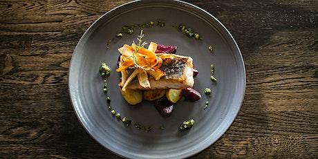 Date Night:  Honey Ginger Glazed Chilean Sea Bass w/ Purple Mashed Potatoes tickets