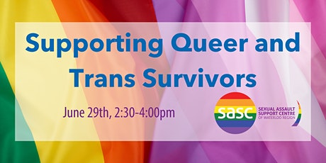 Panel: Supporting Queer and Trans Survivors tickets