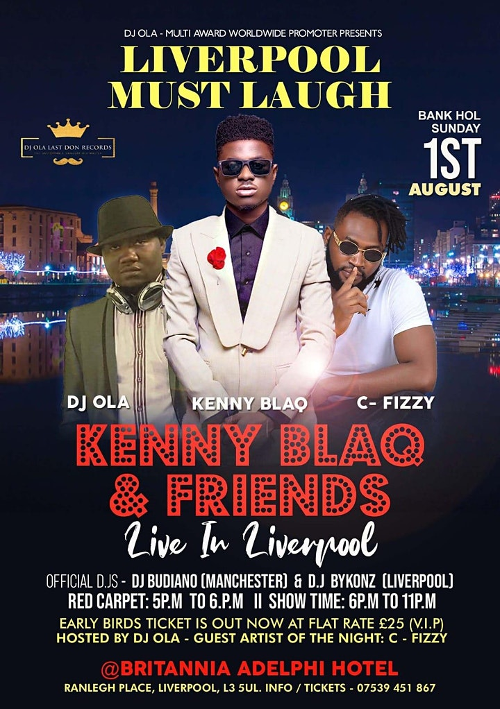 KENNY BLAQ & FRIENDS LIVE IN LIVERPOOL image