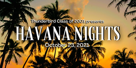 Thunderbird Class of 2001- 20 year reunion tickets