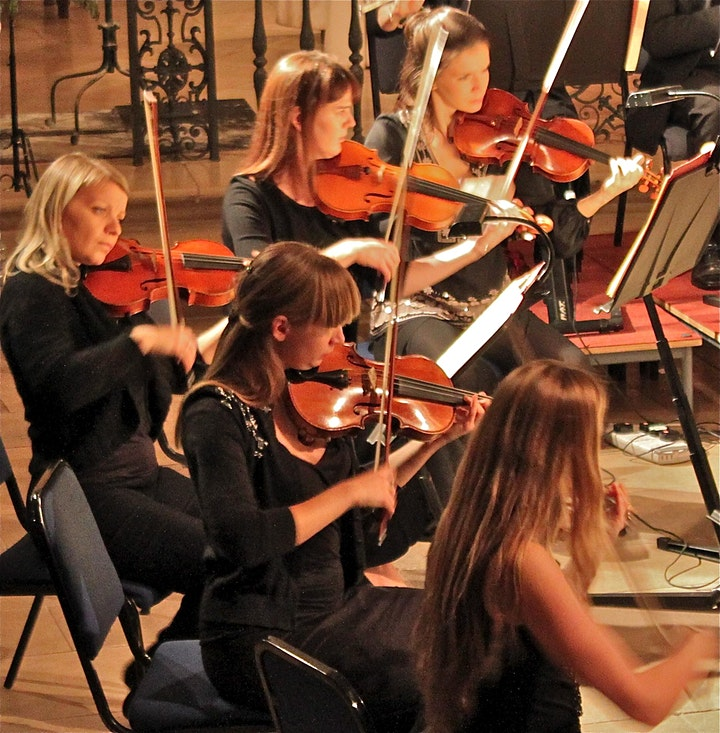 Bach, Handel and Vivaldi by candlelight image