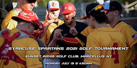 Syracuse Spartans 2021 Golf Tournament tickets