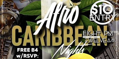 Afro Caribbean Nights tickets