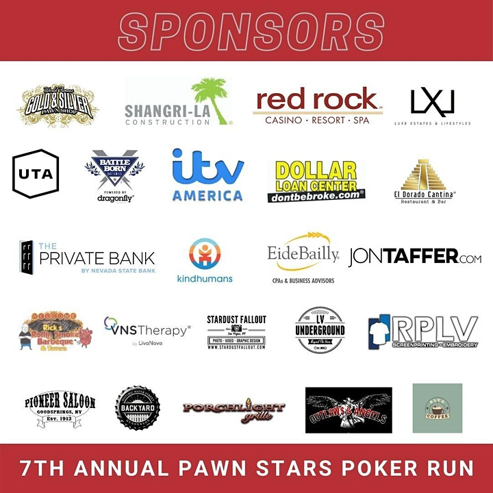 Lucky 7th Annual Pawn Stars Poker Run image