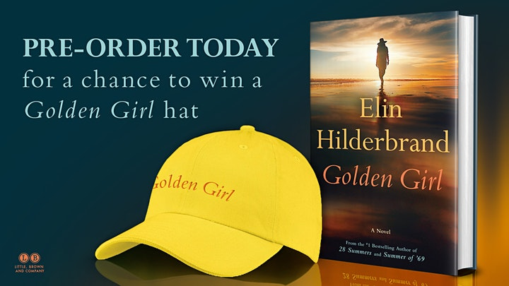 Meet Elin Hilderbrand at The Parker House on tour with her book Golden Girl image