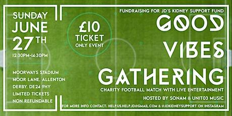 JD's Charity Football Match tickets