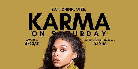 KARMA SATURDAYS tickets
