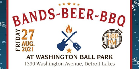 Bands, Beer & BBQ tickets