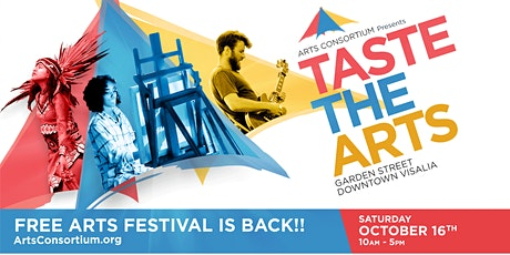 2021 Taste The Arts Booth Registration tickets
