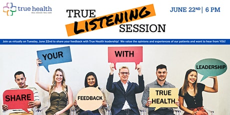 True Listening Session - June 2021 tickets