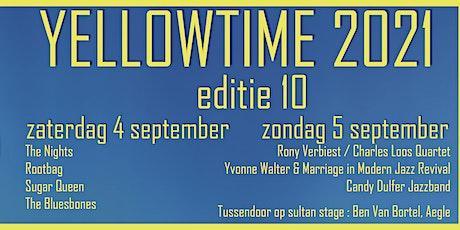 Yellowtime editie 10 tickets