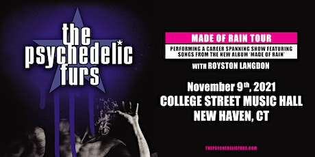 The Psychedelic Furs: Made Of Rain Tour tickets