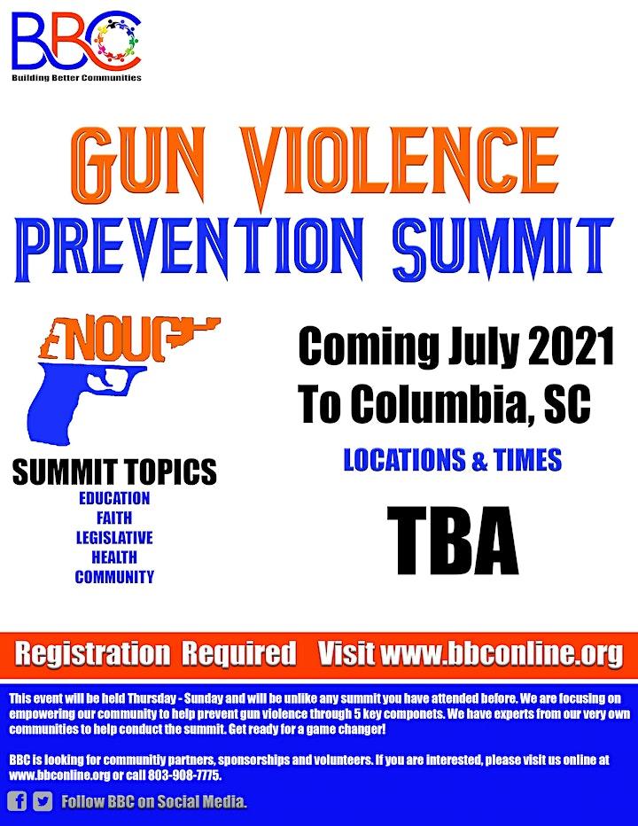 BBC's Gun Violence Prevention Summit 2021 image