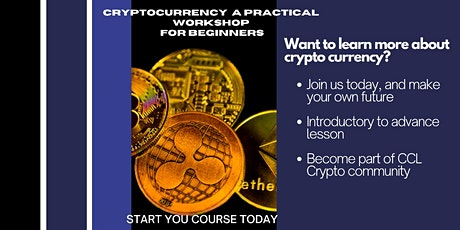Cryptocurrencies: A Practical Workshop For Beginners (Introduction) tickets