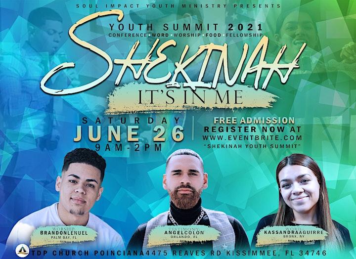 """SHEKINAH: Its in Me""- Youth Summit 2021 image"