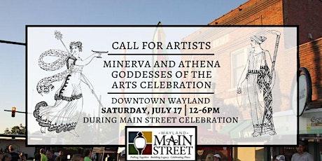 2021 Minerva & Athena, Goddesses of the Arts Celebration Artist Reg. Fee tickets