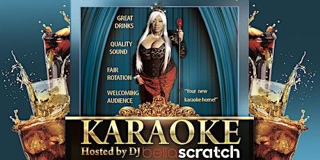 Karaoke with DJ Bella Scratch tickets