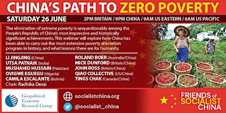 China's Path to Zero Poverty tickets