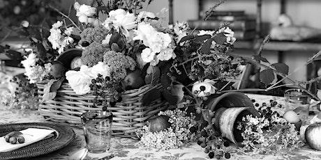 Garden to Autumn Table Workshop tickets