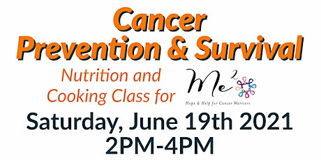 FREE Nutrition Class: Cancer Prevention & Survival for Me Squared tickets
