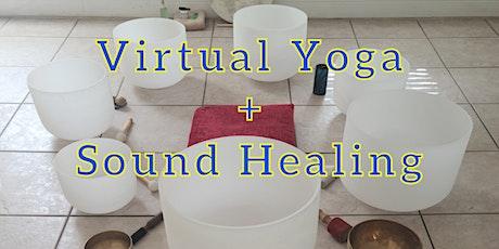 Virtual Yoga + Sound Healing tickets