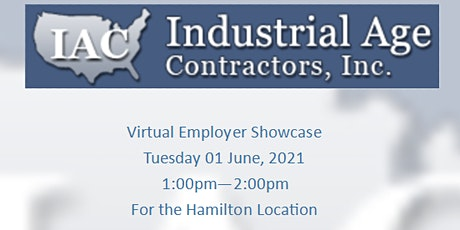 Industrial Age Contractors Employer Showcase tickets