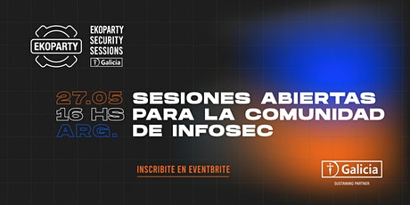 Ekoparty Security Sessions  by Galicia (Vol. I) entradas