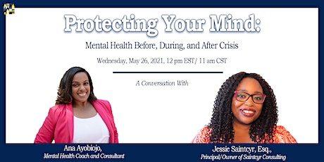 Protecting Your Mind: Mental Health Before, During, and After Crisis tickets