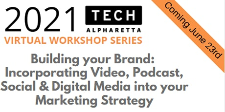 Adding Video, Podcast, Social & Digital Media into your Marketing Strategy tickets