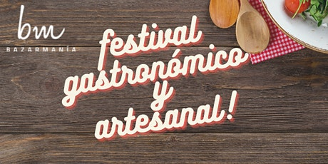 Festival Gastronómico y Artesanal boletos