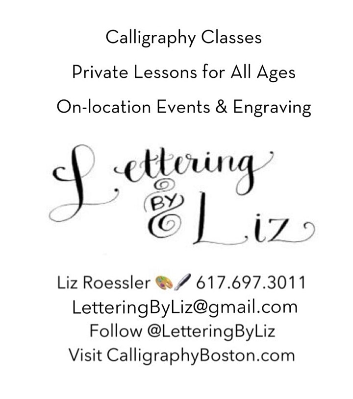 NYC In-person Calligraphy Workshop for Beginners image