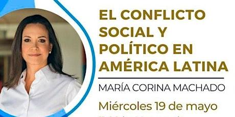 CLUB DE LA LIBERTAD - CONFERENCIA DE MARIA CORINA MACHADO - EL CONFLICTO entradas