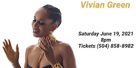 Vivian Green Summer Jam at Wode's tickets