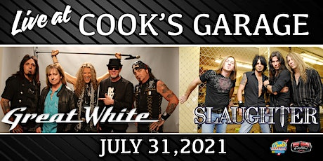 Great White and Slaughter tickets