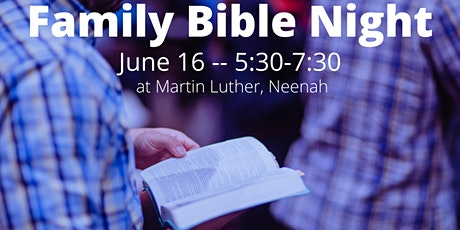 Family Bible Night - June tickets