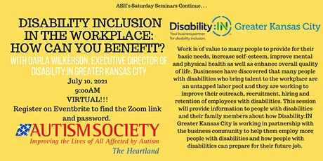 Sat Seminar - Disability inclusion in the workplace: How can you benefit? tickets
