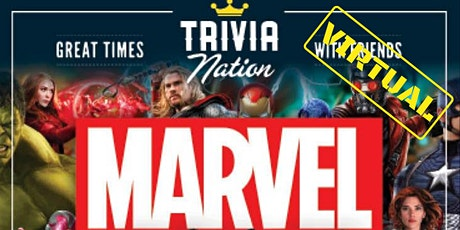 Marvel Phase Two Virtual Trivia!  Gift Cards and Raffle Prizes! tickets