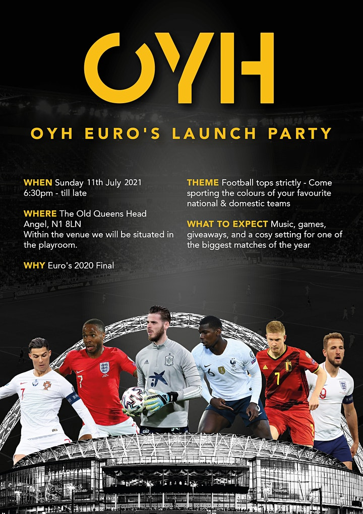 OYH Euro's Launch Party image