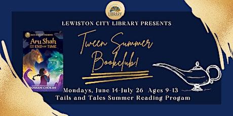 Tween Book Club tickets